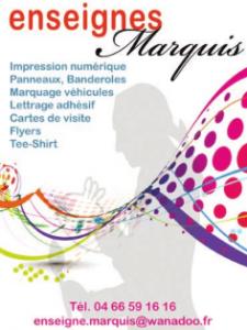 Enseigne Marquis