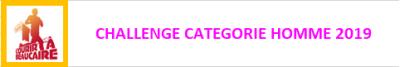 Challenge categorie homme 2019